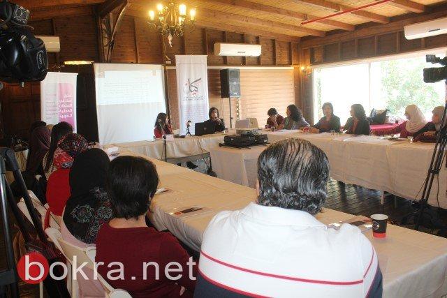 الناصرة: خلال مؤتمر صحفي حول اقصاء النساء من السلطات المحلية- الفساد والقوة عقبات امام ترشح النساء في السلطة المحلية-18