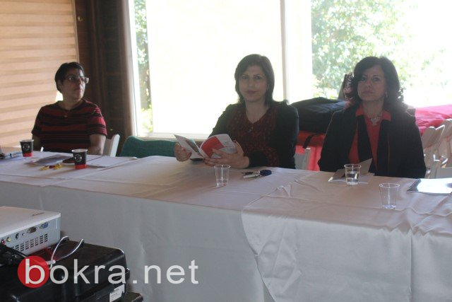 الناصرة: خلال مؤتمر صحفي حول اقصاء النساء من السلطات المحلية- الفساد والقوة عقبات امام ترشح النساء في السلطة المحلية-21