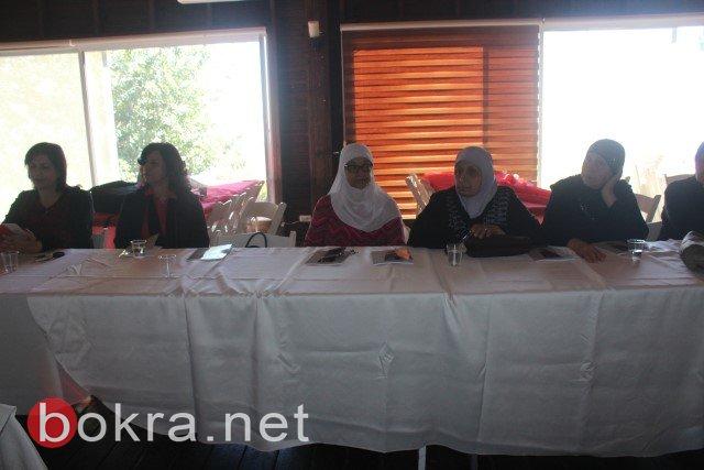 الناصرة: خلال مؤتمر صحفي حول اقصاء النساء من السلطات المحلية- الفساد والقوة عقبات امام ترشح النساء في السلطة المحلية-23