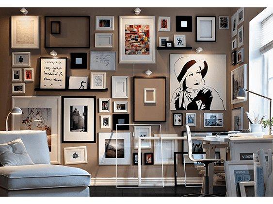 نصائح ديكور: لوحات جداريه فخمه في المنازل السعودية