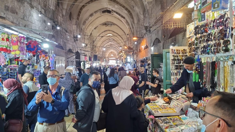 نجاح مميز لليوم الأول لمهرجان القدس للتسوق  يلا على البلد