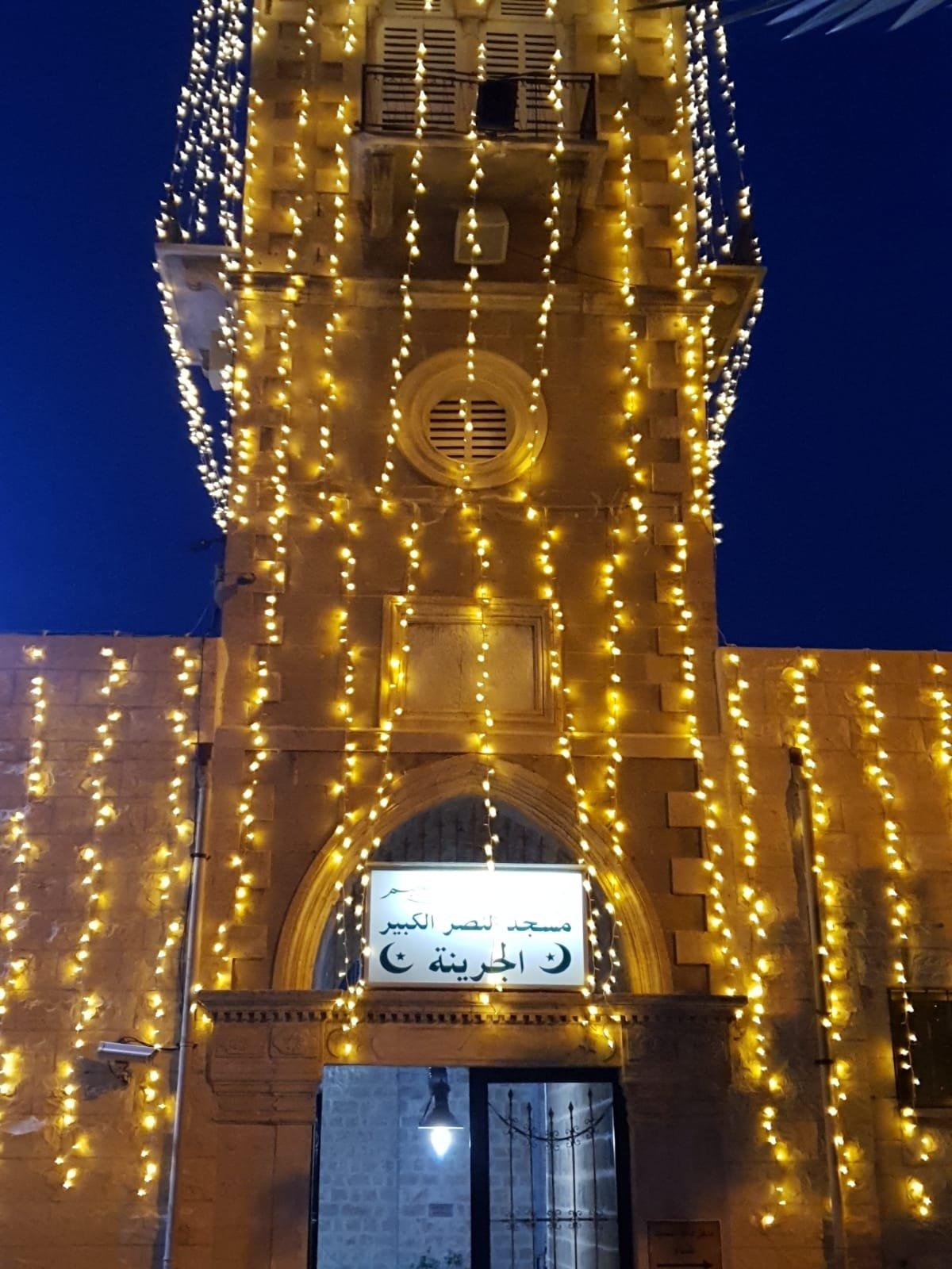 حيفا تتزيّن استعداداً لاستقبال شهر رمضان المبارك