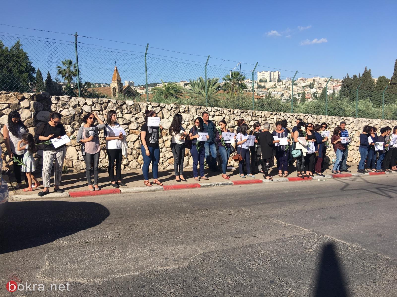 الناصرة: الآلاف يشيّعون الفنان توفيق زهر ضحية جريمة القتل