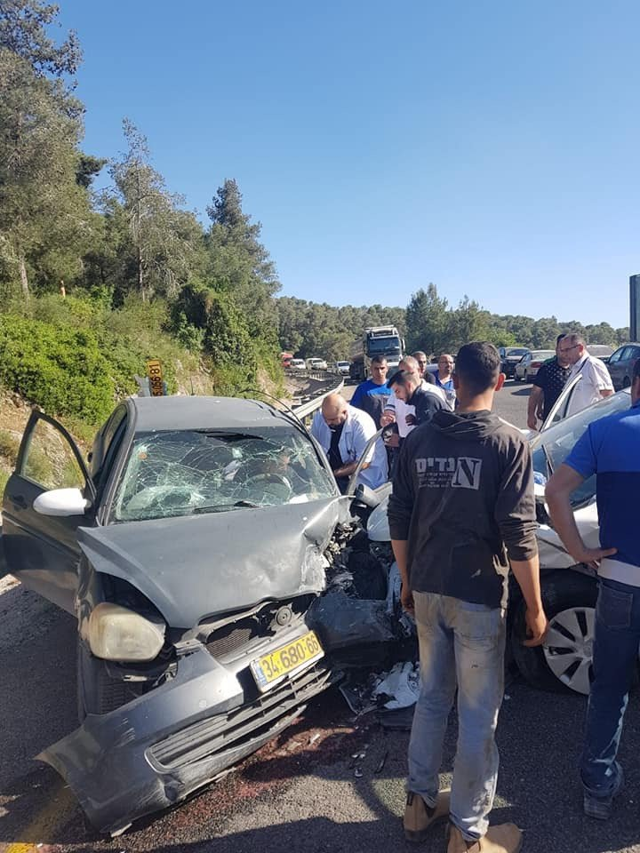 ام الفحم: إصابتان في حادث طرق