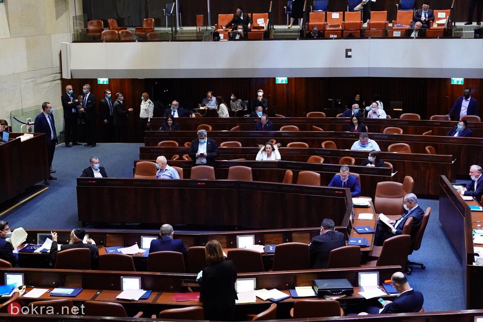 الكنيست تصادق على مشروع قانون التناوب الحكومي-4