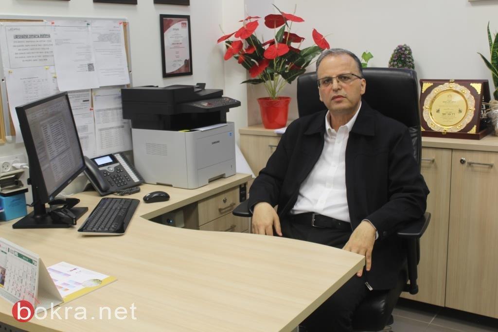 د. عوني يوسف لبكرا: بسبب الالتزام بتعليمات الوزارة وجهد كلاليت انخفضت نسبة الإصابة بكورونا