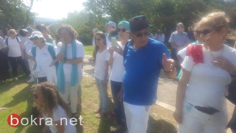 """""""نساء يصنعن السلام"""" تنظم مسيرة امام الكنيست وتدعو للتوصل الى اتفاق سياسي-2"""