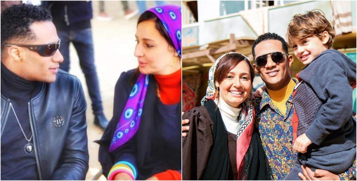 حلا شيحة ومحمد رمضان يُعلّقان على شائعات زواجهما!