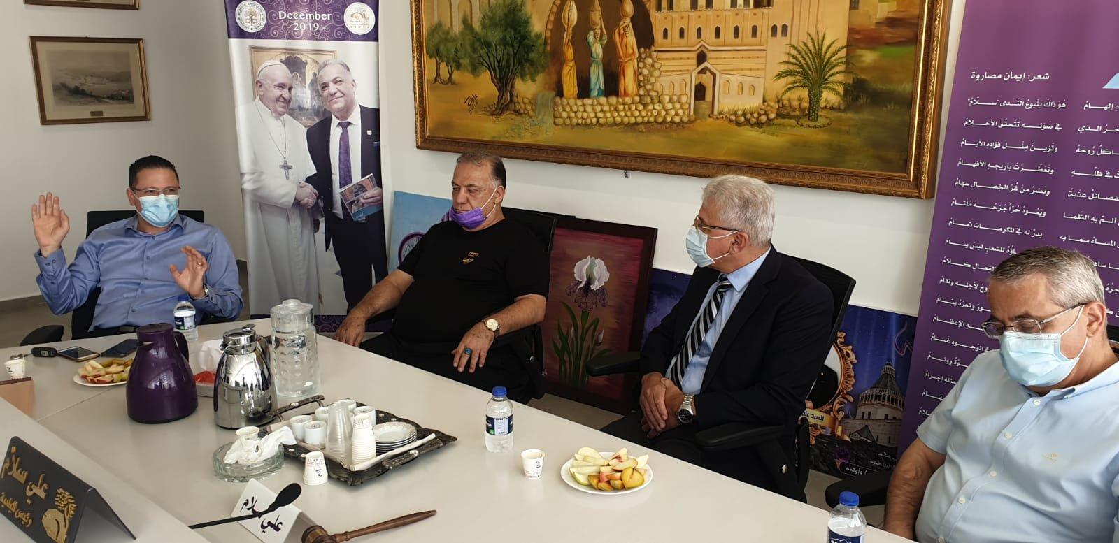 انطلاق مشروع المدارس الآمنة من الكورونا في الناصرة-2