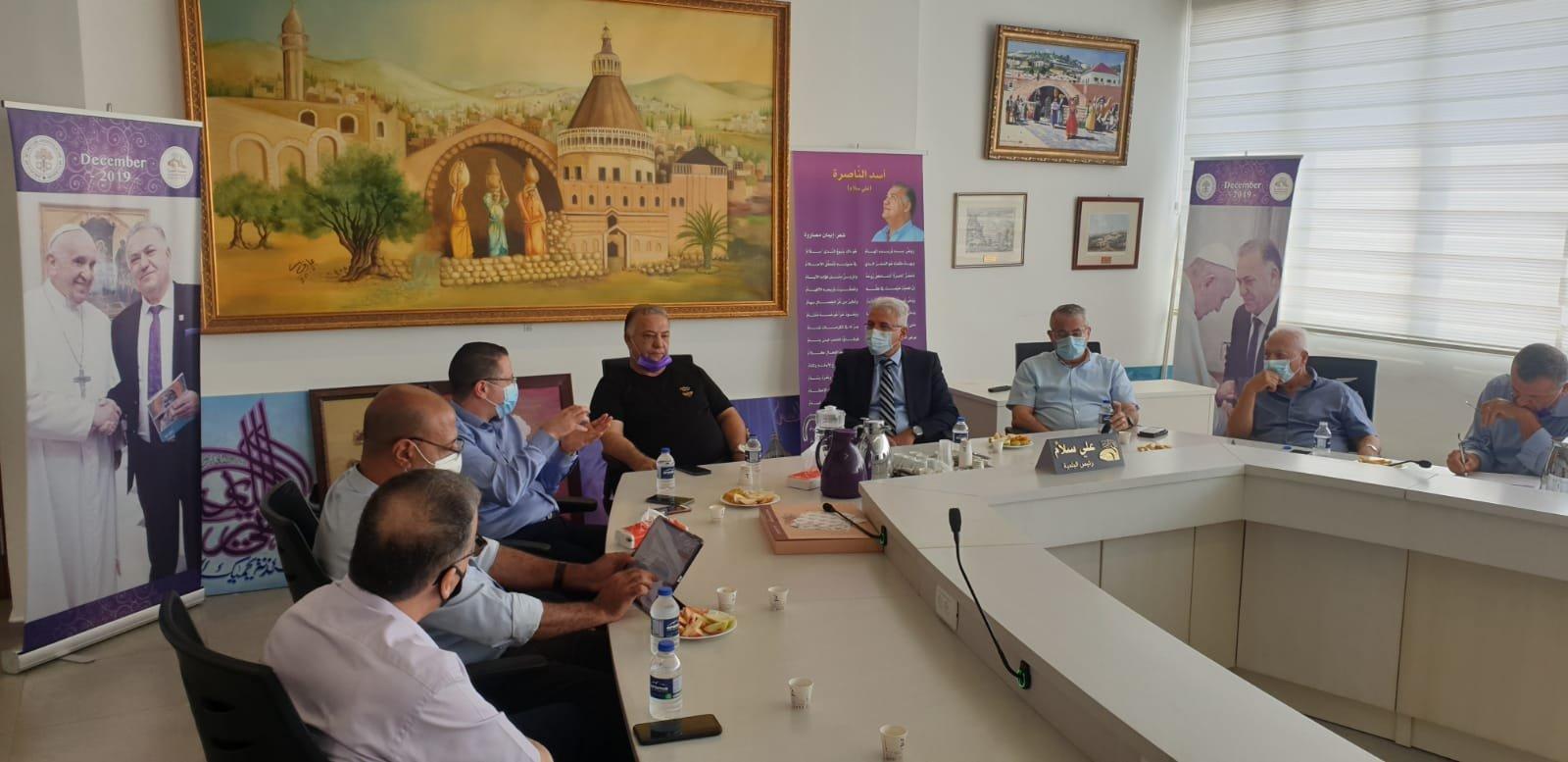 انطلاق مشروع المدارس الآمنة من الكورونا في الناصرة-3