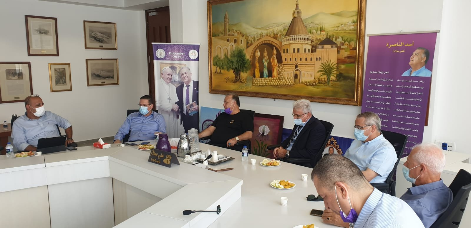 انطلاق مشروع المدارس الآمنة من الكورونا في الناصرة-4