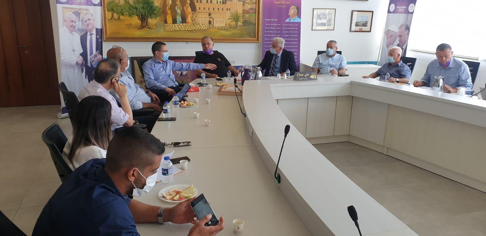 انطلاق مشروع المدارس الآمنة من الكورونا في الناصرة-5
