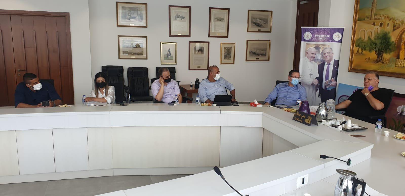 انطلاق مشروع المدارس الآمنة من الكورونا في الناصرة-6