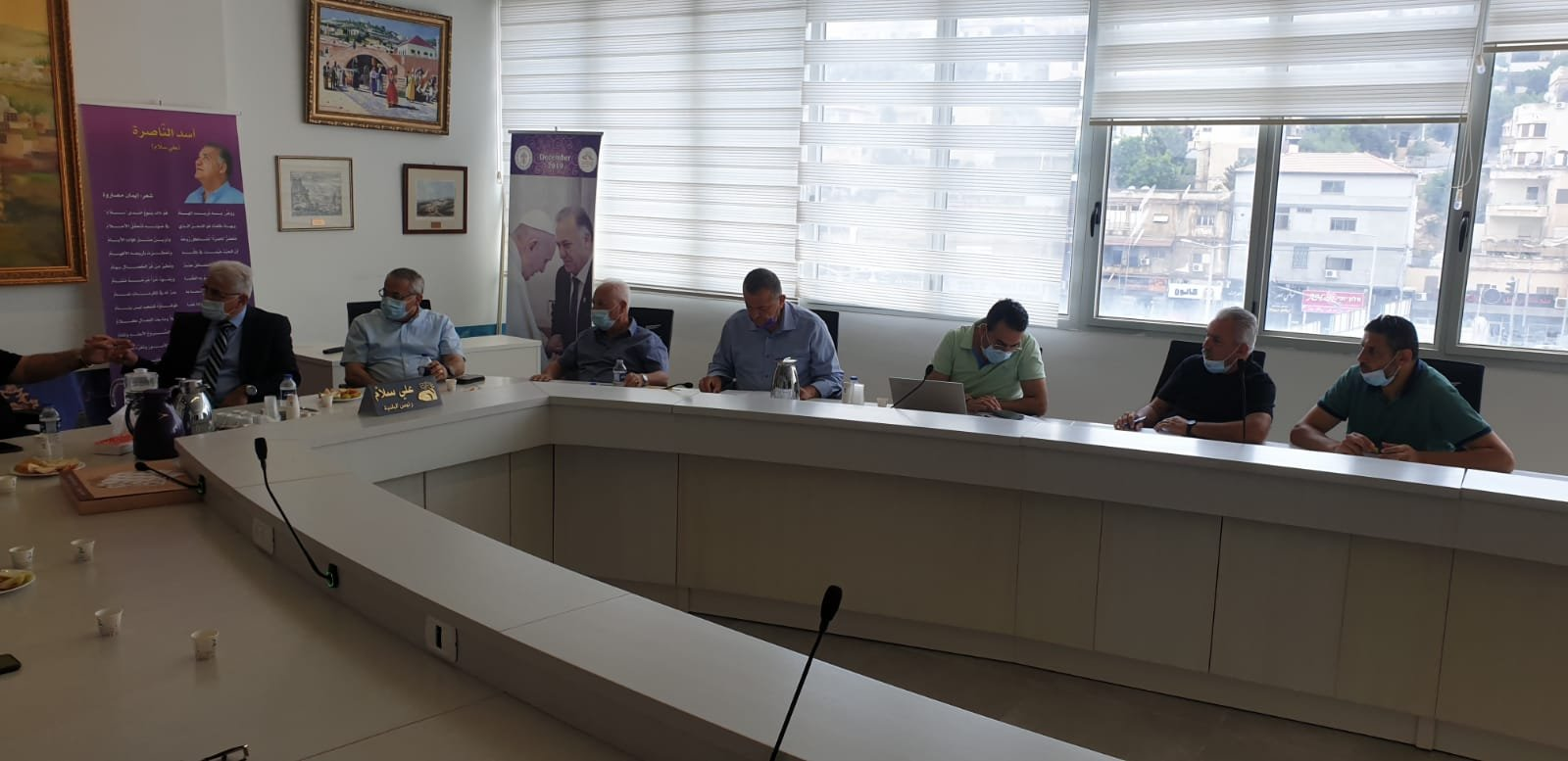 انطلاق مشروع المدارس الآمنة من الكورونا في الناصرة-7