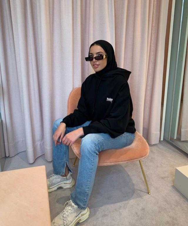 صيحة نظارات الفاشينيستا العربيات الغريبة