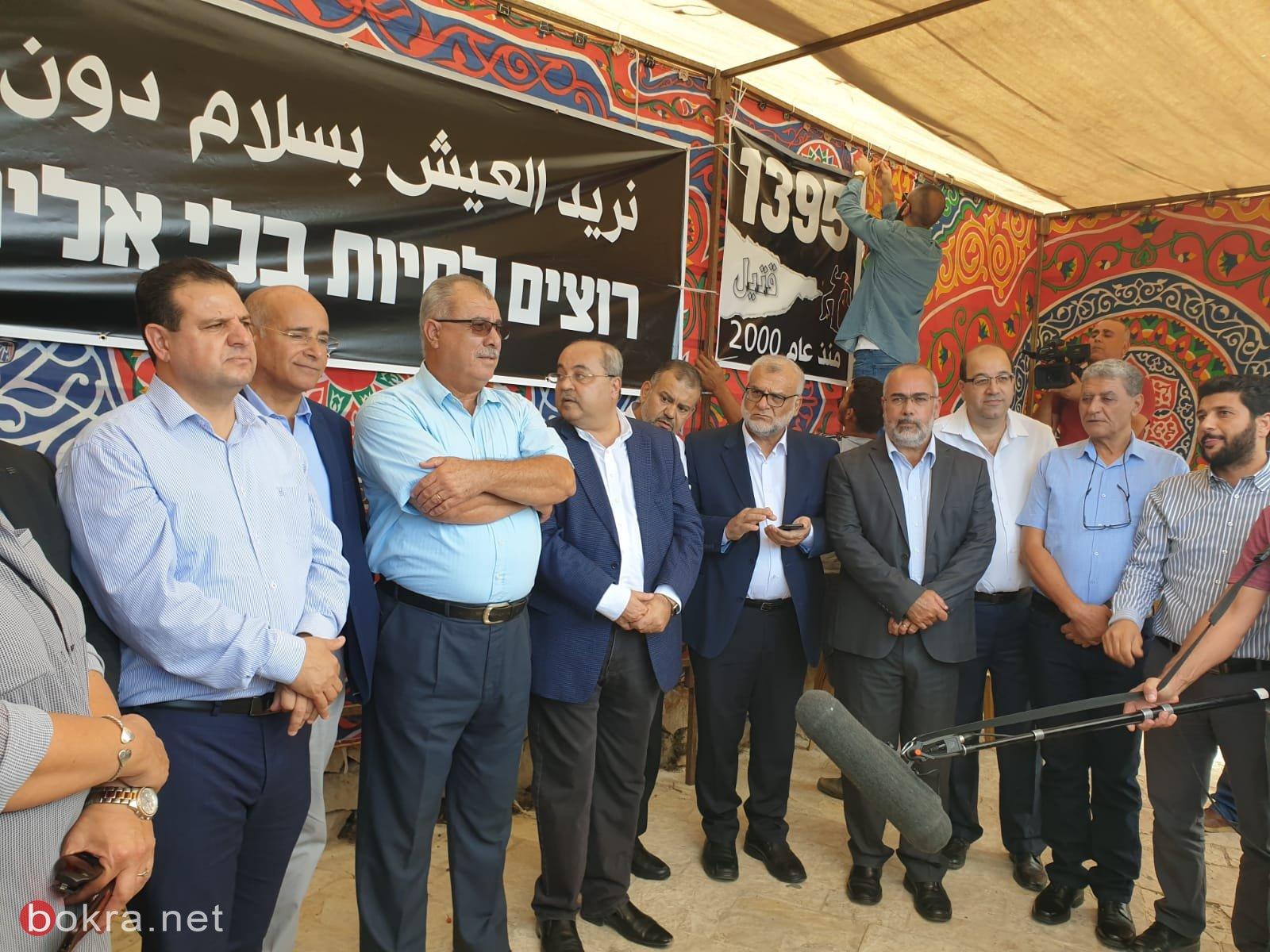 المتابعة: نجاح باهر لخيمة الاحتجاج في القدس وفرضت نفسها على الرأي العام
