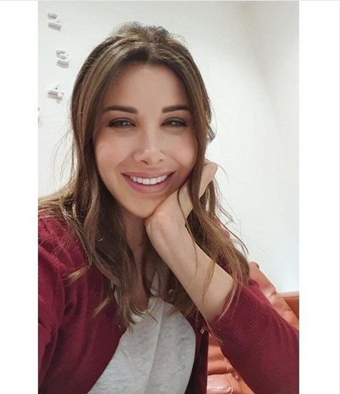 نانسي عجرم من دون مكياج: عندما يشعر القلب بالسلام تكون الإبتسامة حقيقية!
