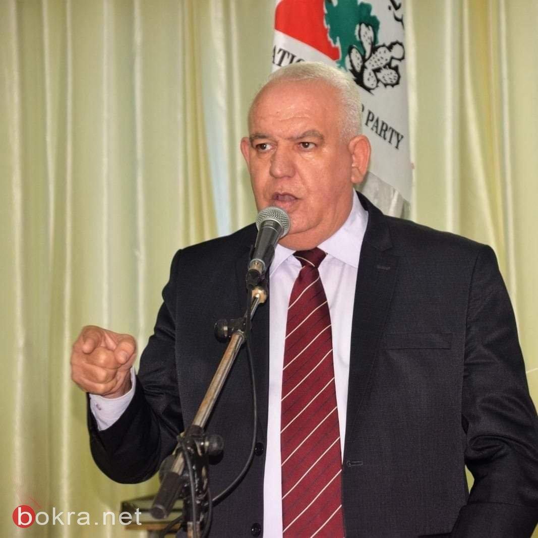 القومي العربي وكرامة ومساواة يتوحدان لخوض الإنتخابات