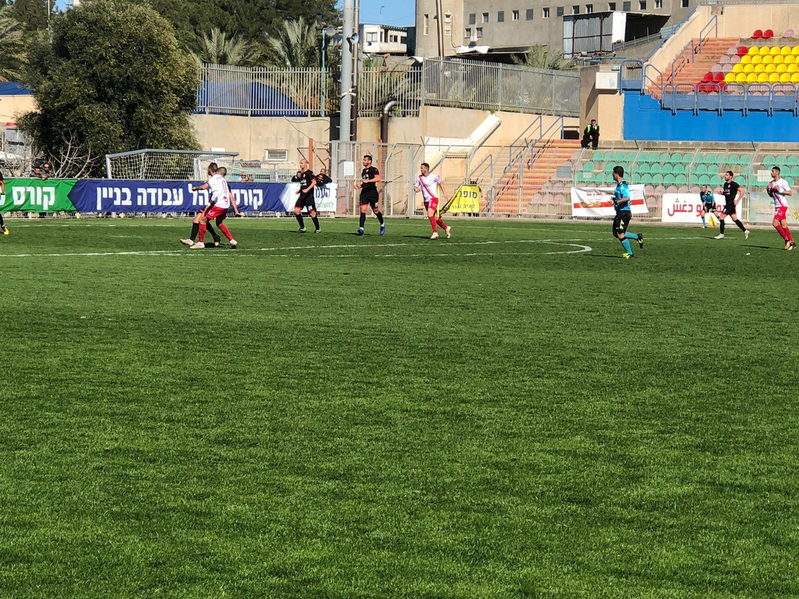 هـ. ام الفحم يفوز على روبي شابيرا بنتيجة 2-1 ويحافظ على الصدارة