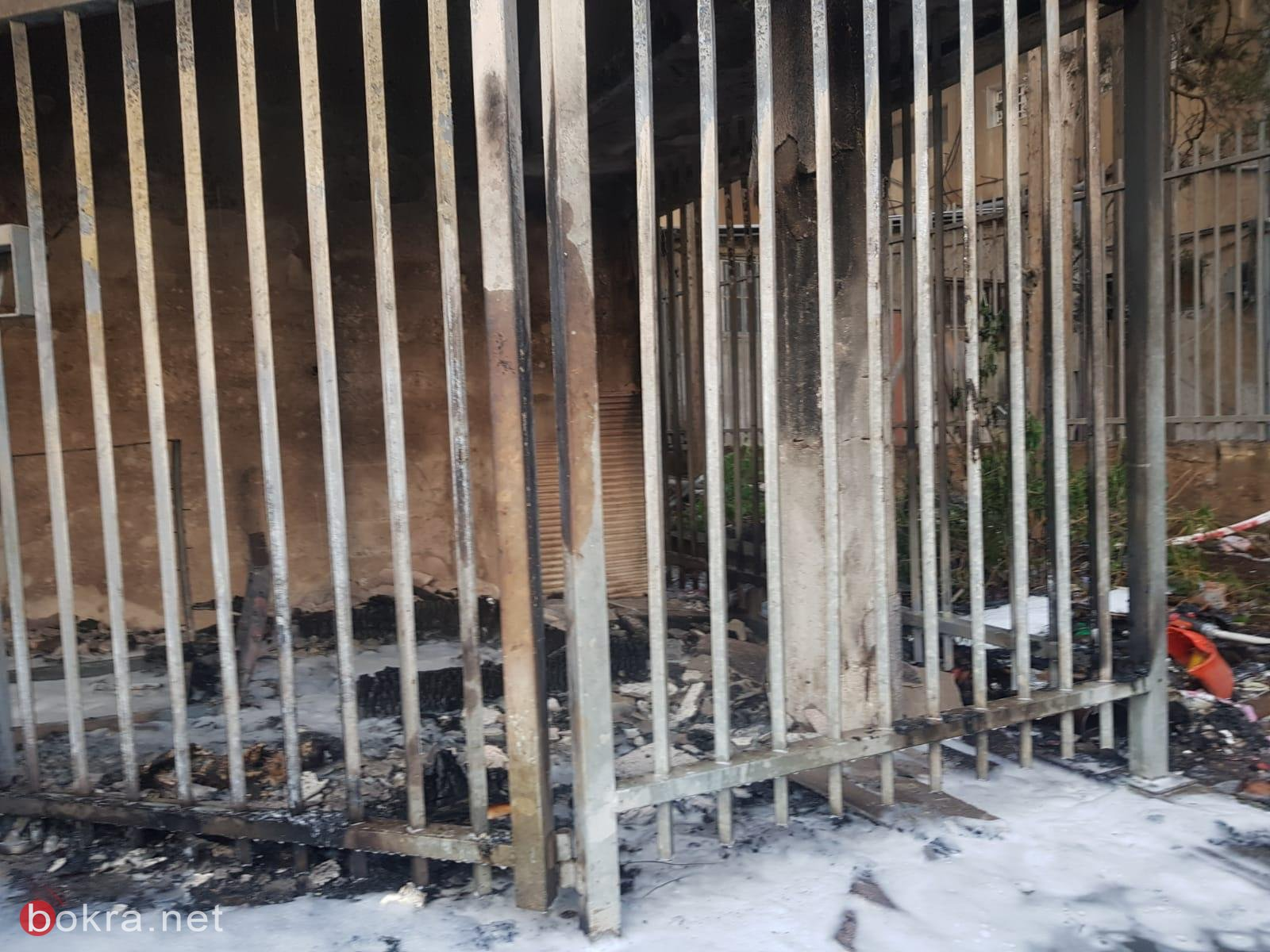 حيفا: اندلاع حريق في مبنى سكني  -2