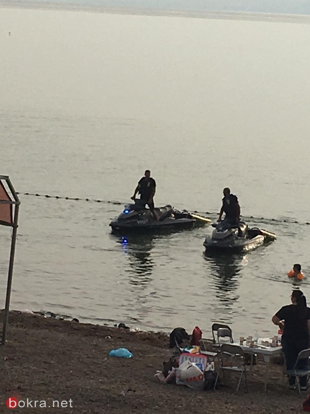 اكرم اسدي دير الاسد ينقذ اربعة اولاد من القدس في بحيرة طبريا
