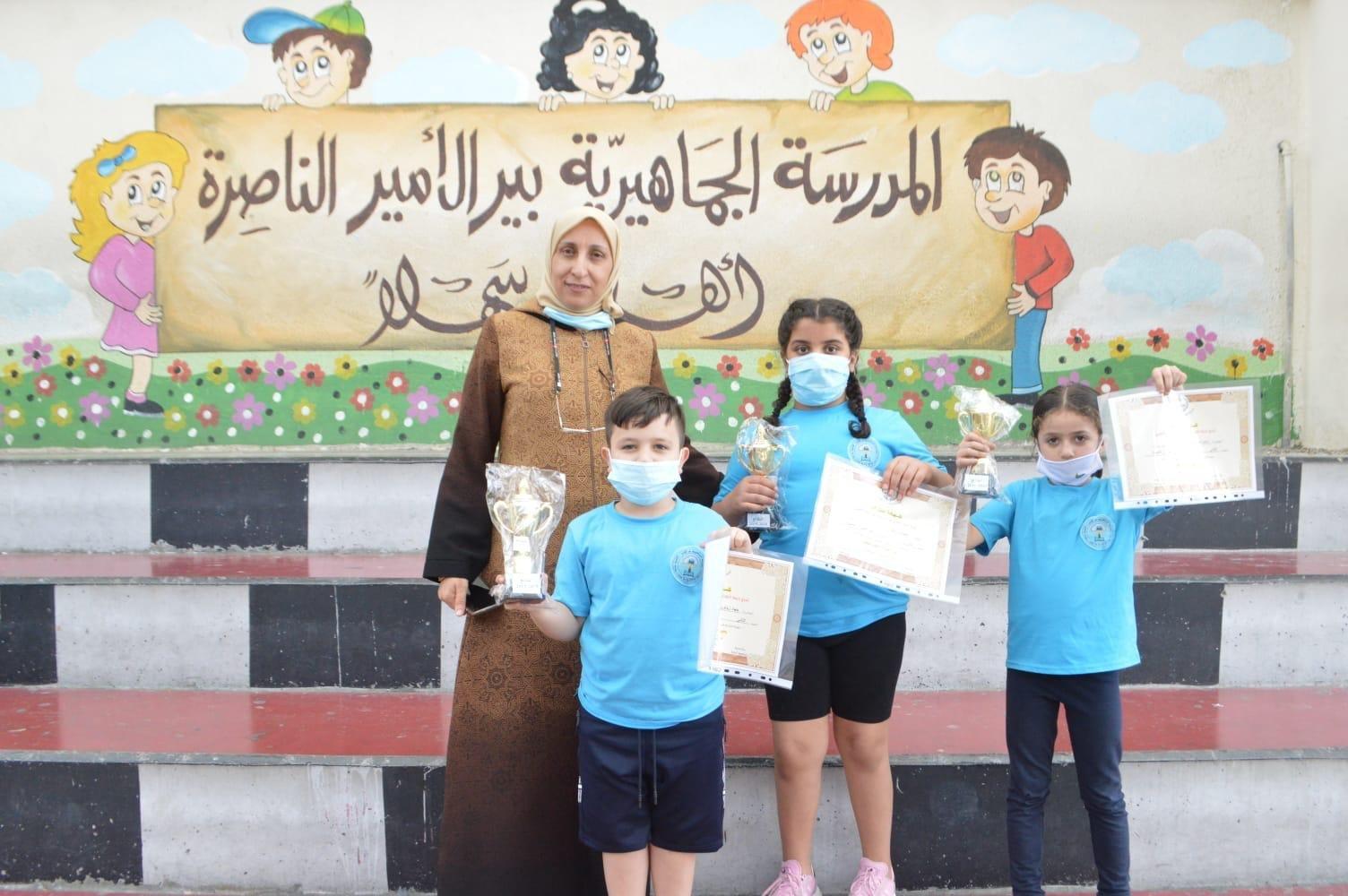 نجاحات وتألّقات في موضوع الرياضيات في المدرسة الجماهيرية بير الأمير - الناصرة