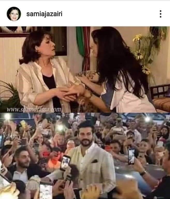 ممثلة سورية: بوراك أوزجيفيت سرق قميصي
