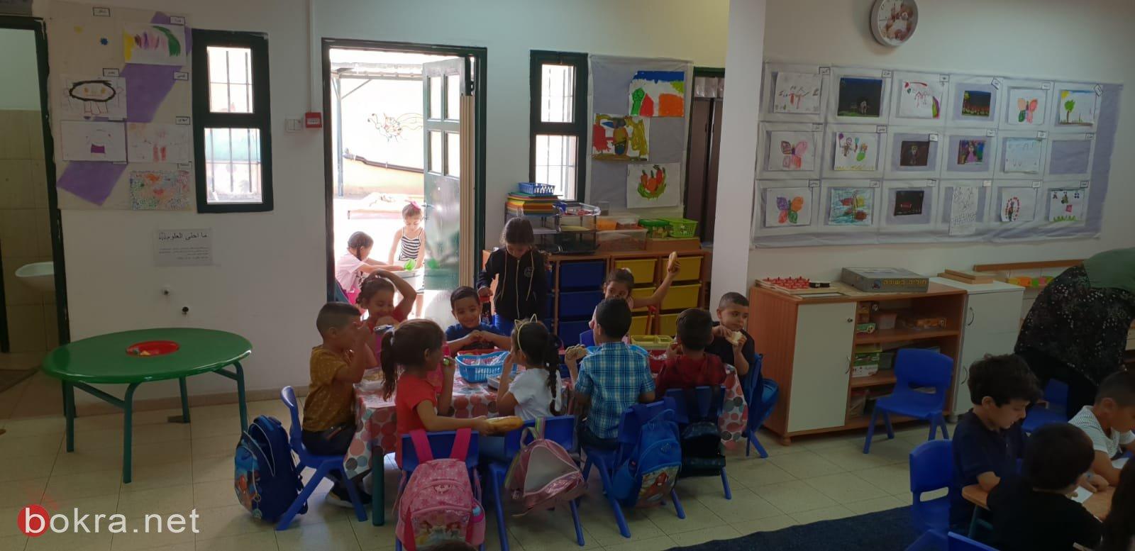 بلدية الناصرة: زيارة لصفوف البساتين والروضات وتفقد اوضاعها