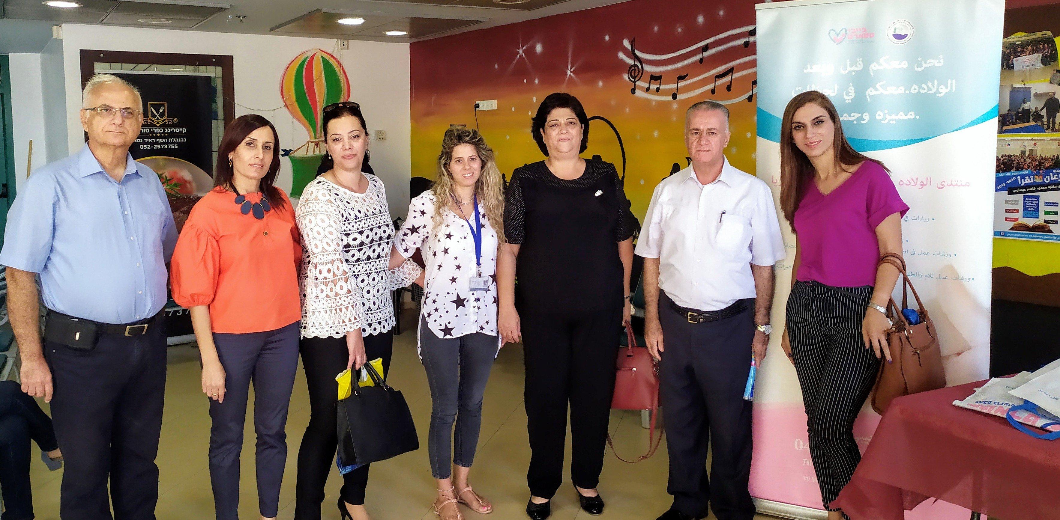 عُقد المؤتمر الأول للنساء الحوامل والنساء بعد الولادة في المركز الجماهيري طرعان