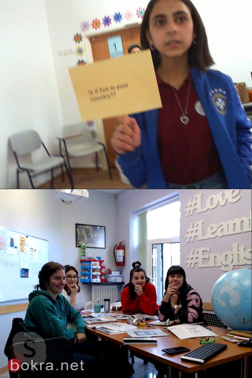 سخنين: مدرسة الحلان تتألق وطلابها يزورون دول العالم