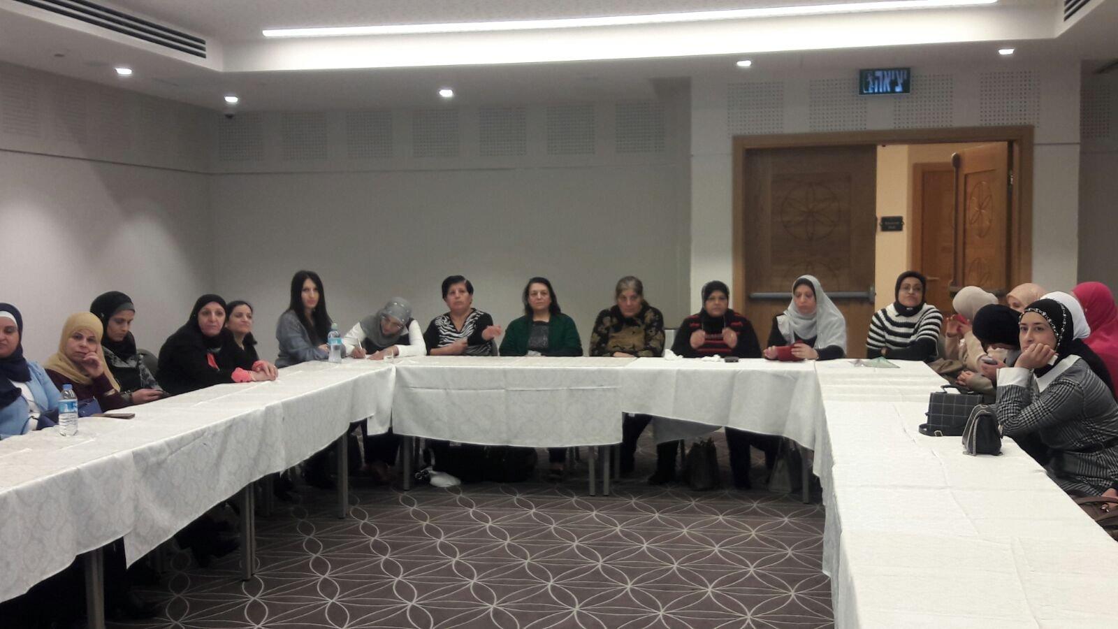 صندوق مسيرة يمول مبادرة هامة بخدمات مركز المساعدة في جمعية نساء ضد العنف.-1
