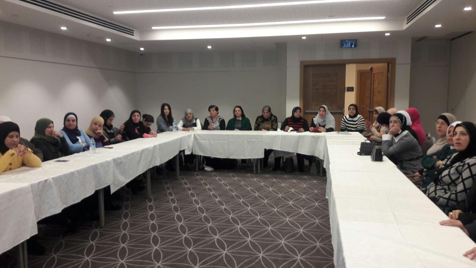 صندوق مسيرة يمول مبادرة هامة بخدمات مركز المساعدة في جمعية نساء ضد العنف.-2