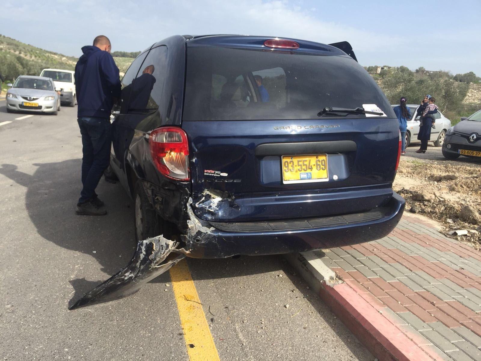 معاوية: حادث طرق يؤدي الى عدد من الاصابات -1