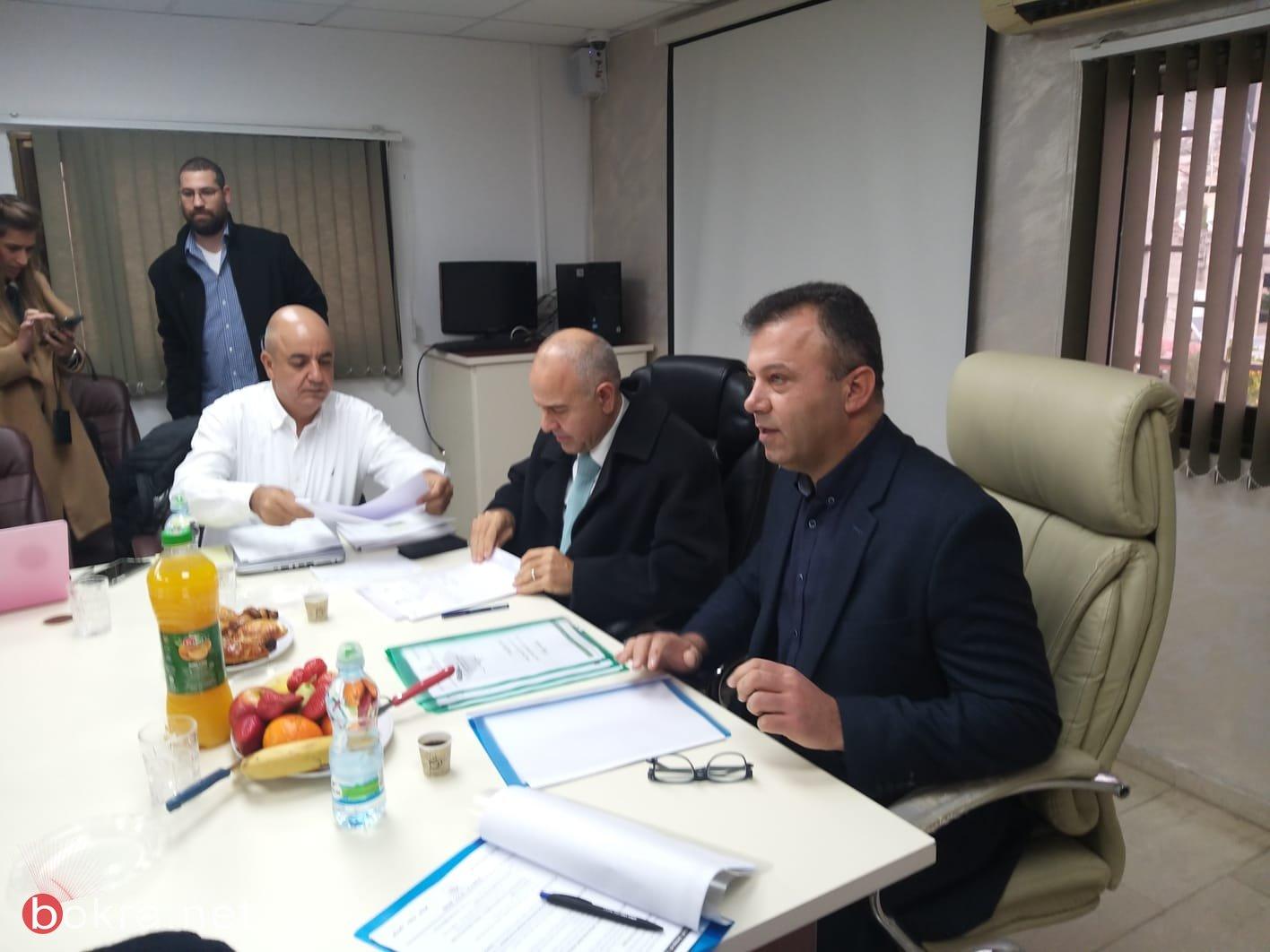 زيارة المدير العام للوزارة شموئيل أبواب لبلدات جث،بستان المرج ونحف -2