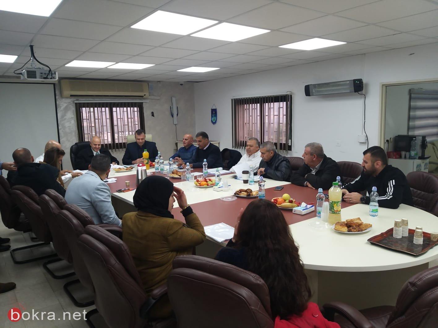 زيارة المدير العام للوزارة شموئيل أبواب لبلدات جث،بستان المرج ونحف -3