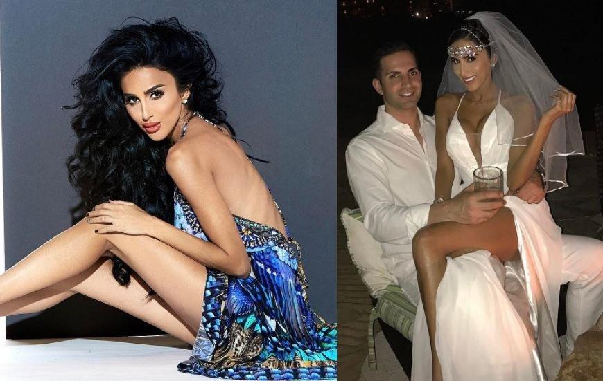 بالصور.. زفاف خيالي لعارضة أزياء إيرانية بـ4 فساتين!