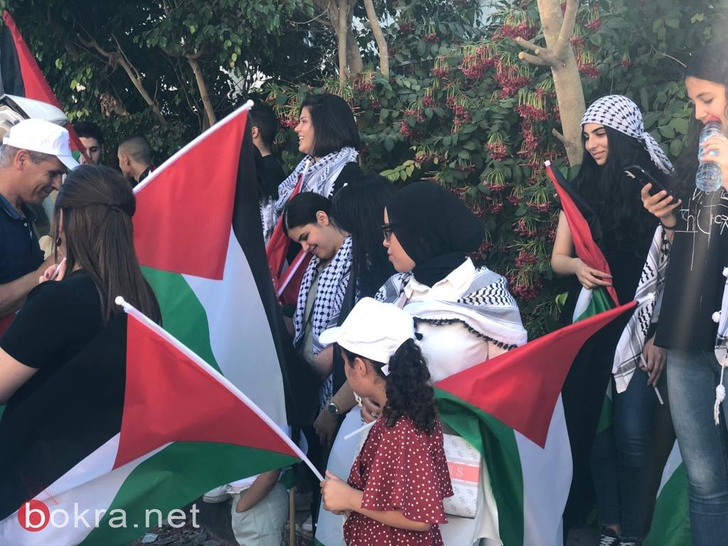 الأولى من نوعها.. مسيرة أعلام فلسطينية في الـ 48-0