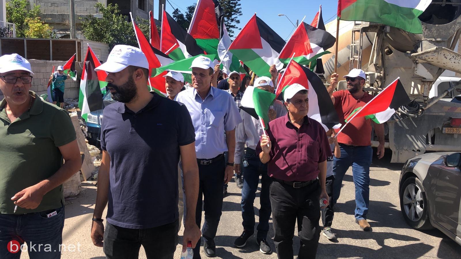 الأولى من نوعها.. مسيرة أعلام فلسطينية في الـ 48-2