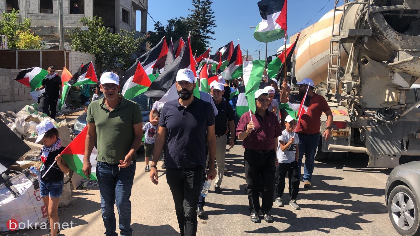 الأولى من نوعها.. مسيرة أعلام فلسطينية في الـ 48-4