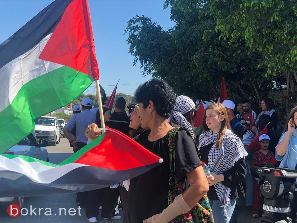 الأولى من نوعها.. مسيرة أعلام فلسطينية في الـ 48-5