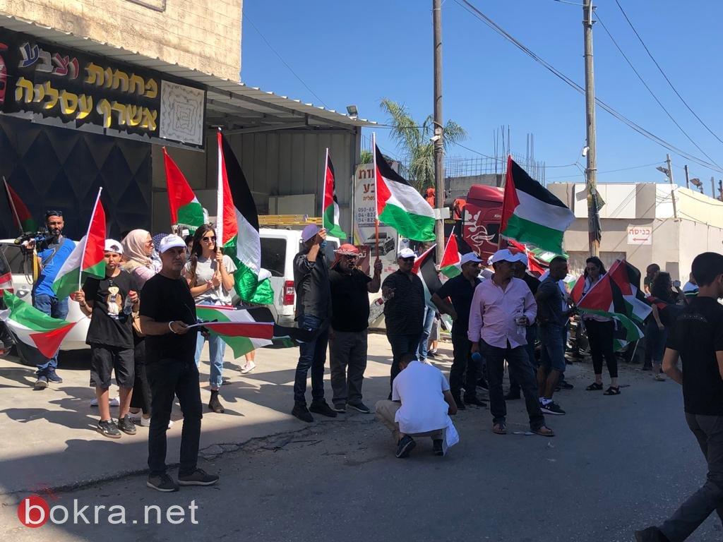 الأولى من نوعها.. مسيرة أعلام فلسطينية في الـ 48-6