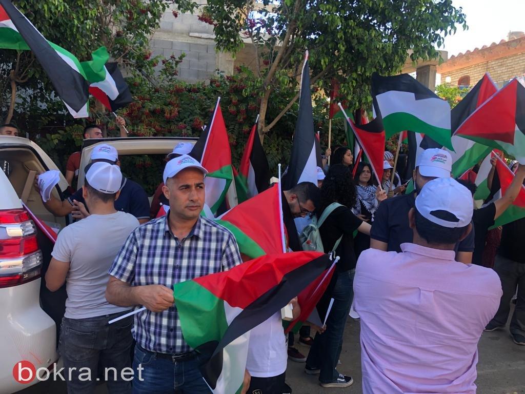 الأولى من نوعها.. مسيرة أعلام فلسطينية في الـ 48-7