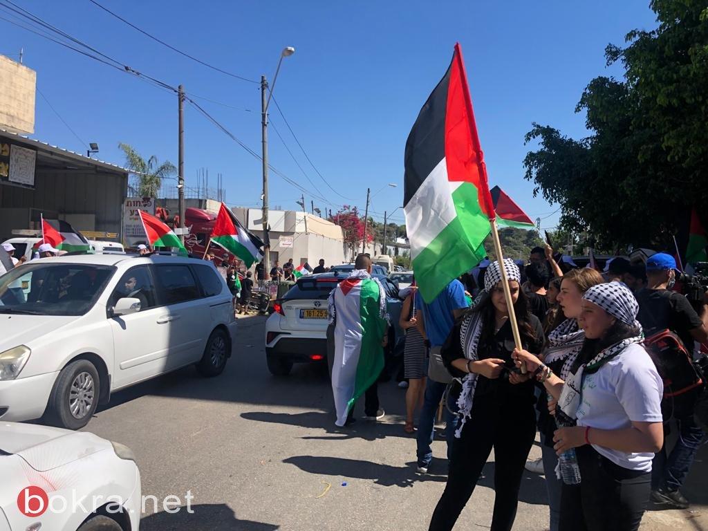 الأولى من نوعها.. مسيرة أعلام فلسطينية في الـ 48-8