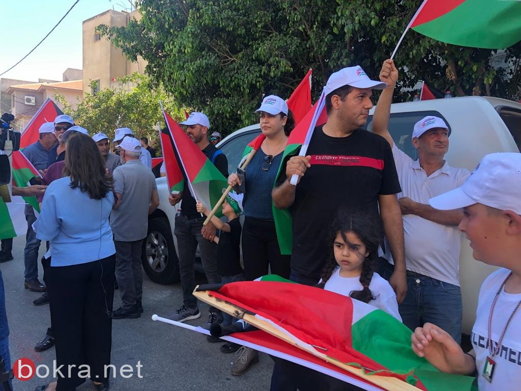 الأولى من نوعها.. مسيرة أعلام فلسطينية في الـ 48-9