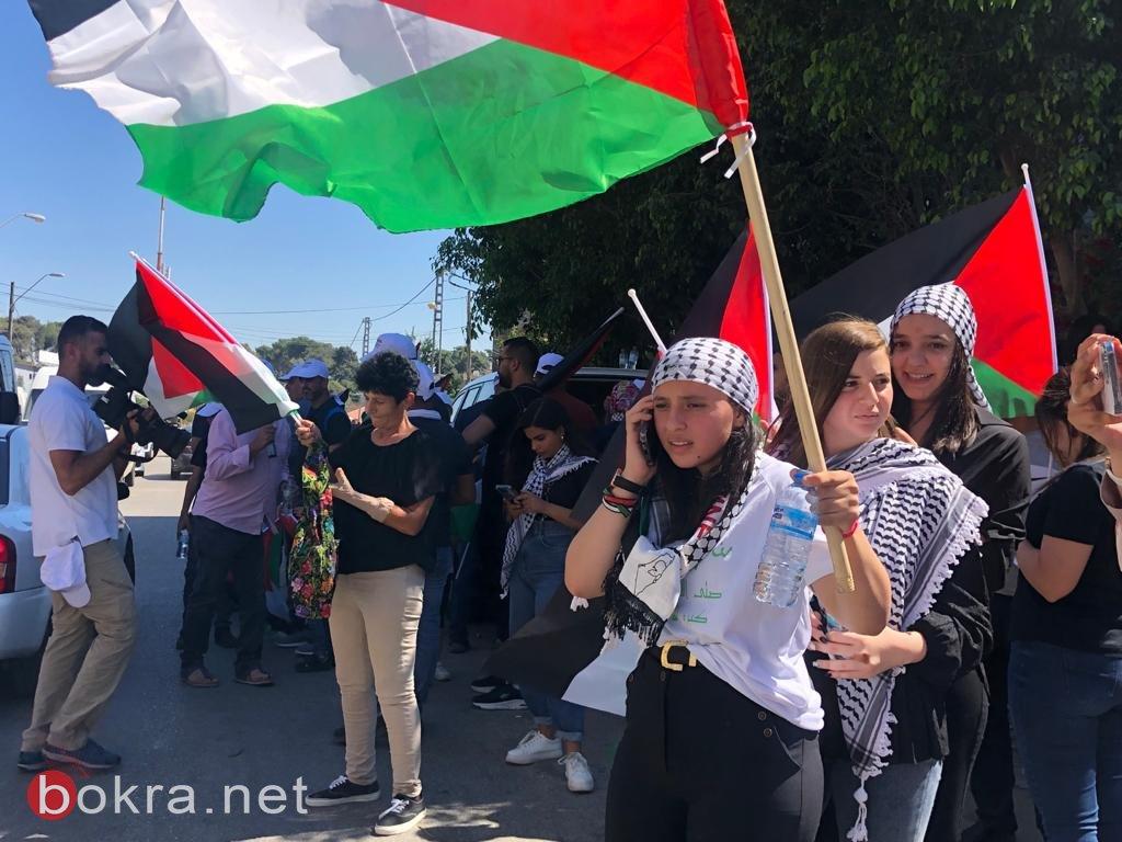 الأولى من نوعها.. مسيرة أعلام فلسطينية في الـ 48-11