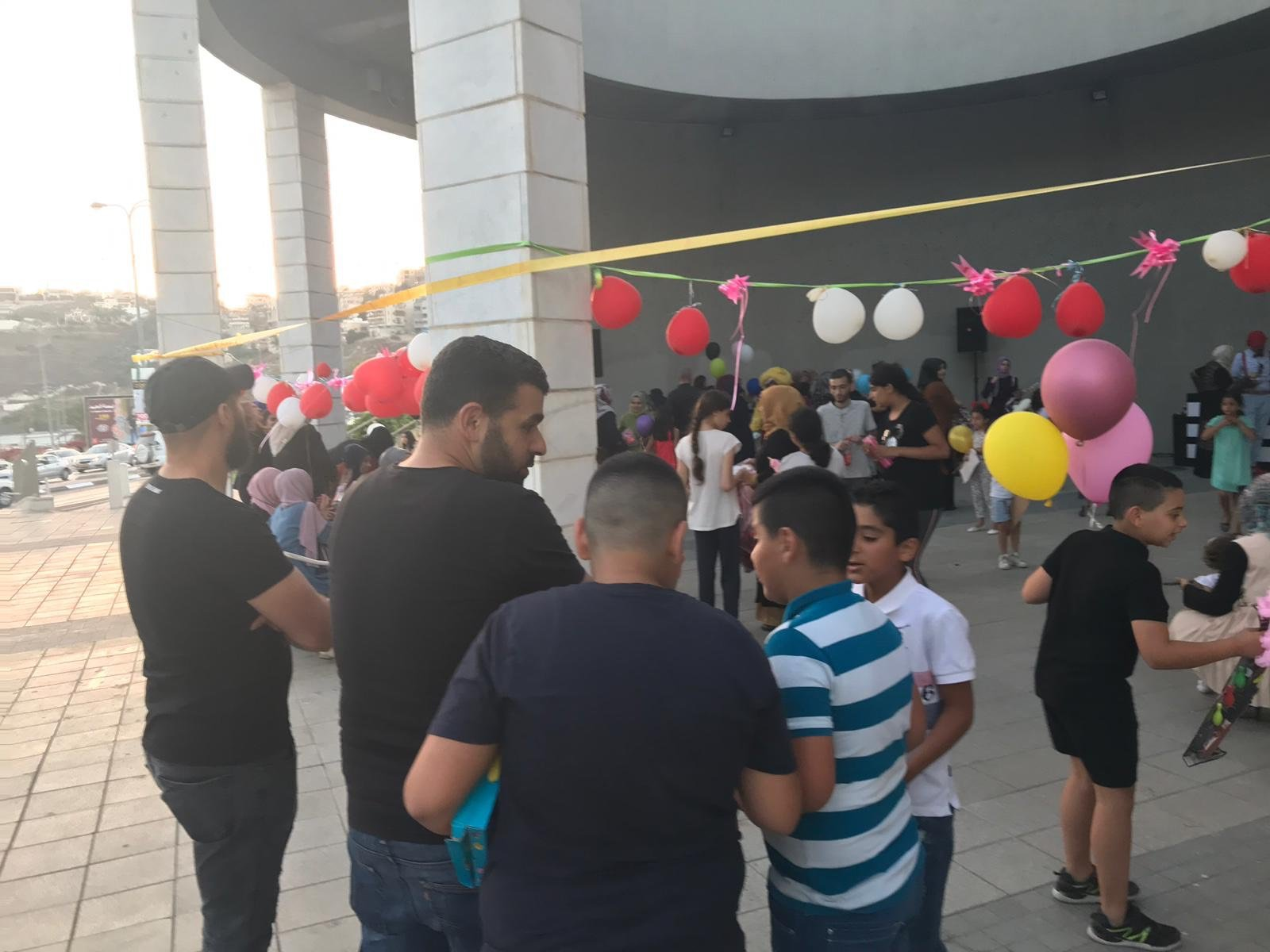 ام الفحم: قناديل الخير تحتفل بقدوم عيد الأضحى وتوزّع اللحوم على المستورين