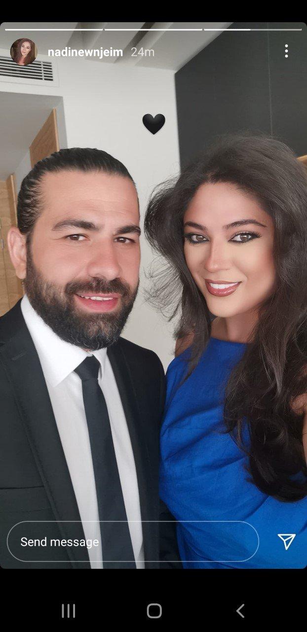 ملكة جمال لبنان 2007 ساحرة بالأزرق الملوكي.. تعرفوا إلى زوجها-1