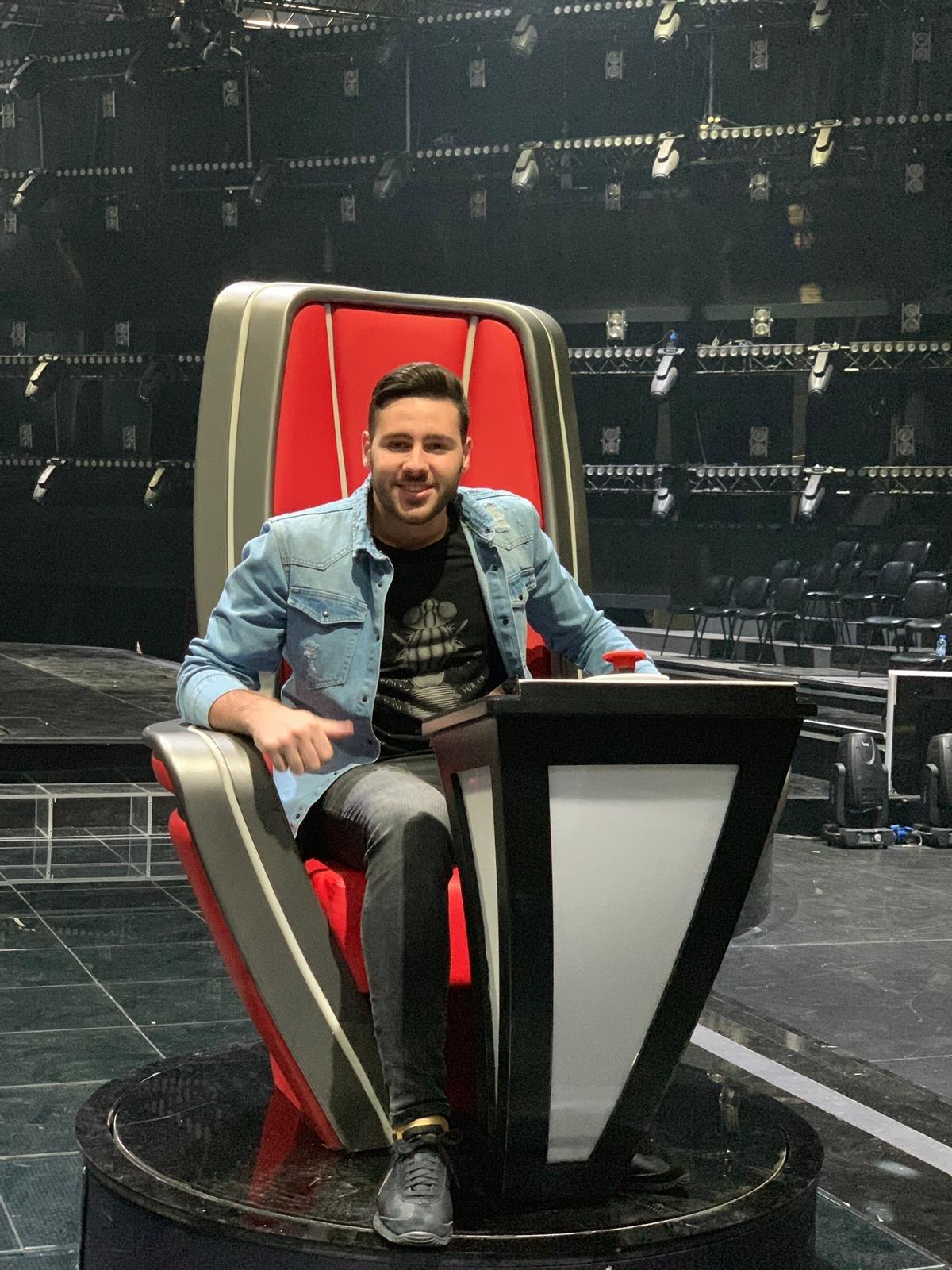 النجم الفلسطينيطارق كيوف يشارك في The Voice أم بي سي