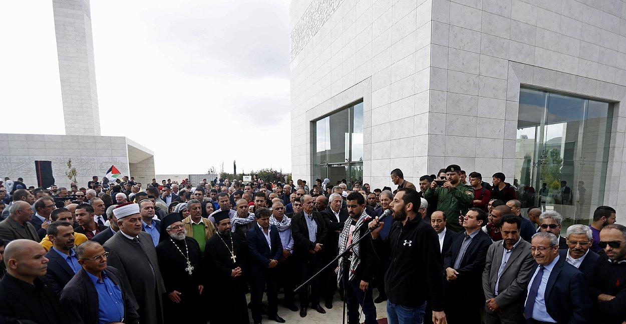 إحياء الذكرى الـ13 لاستشهاد ياسر عرفات بفعاليات ومسيرات في الضفة-2