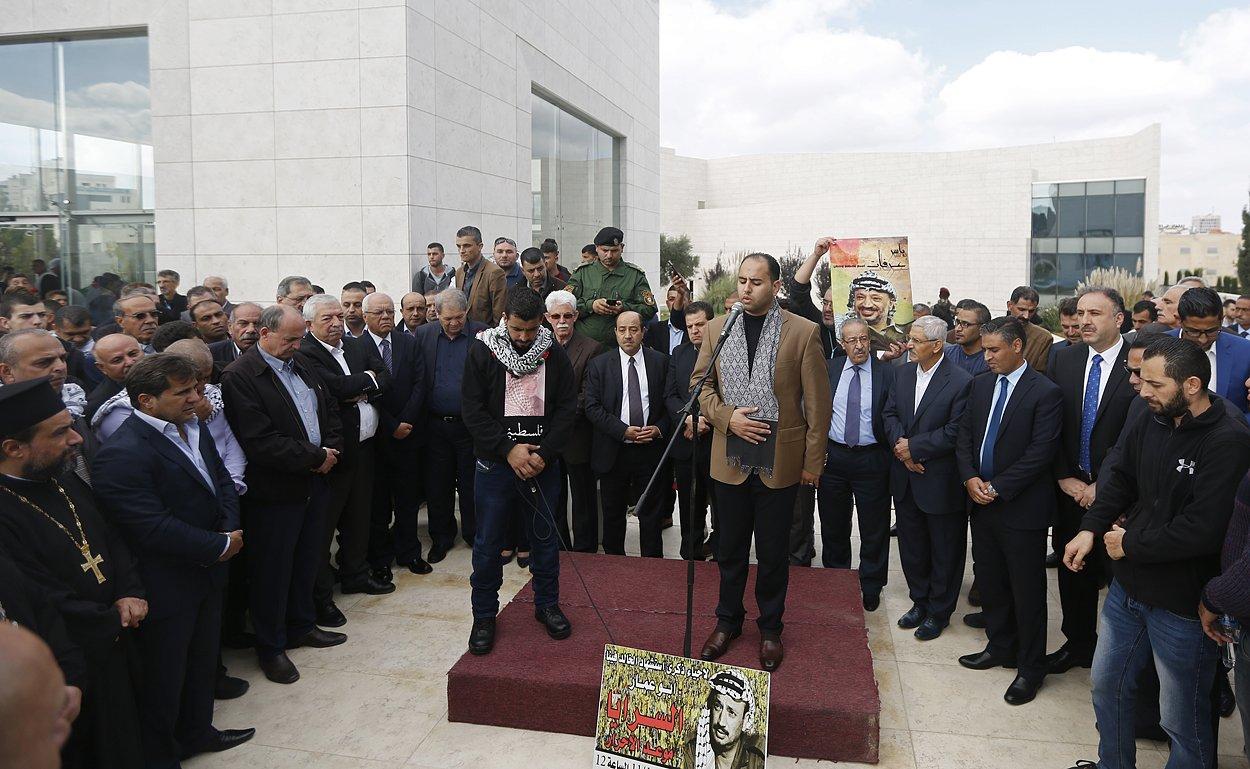إحياء الذكرى الـ13 لاستشهاد ياسر عرفات بفعاليات ومسيرات في الضفة-9